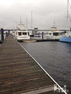 85 Ft. Boat Slip in Downtown Wilmington