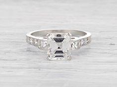 2.03 Carat Art Deco Tiffany & Co. Engagement Ring