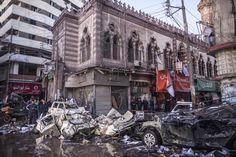 Egypt car bomb | 20131224__egypt_car_bomb~p1.jpg أنفجار مديرية أمن الدقهلية 23-12-013