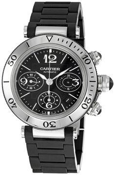 Cartier Pasha Seatimer Mens Watch W31088U2
