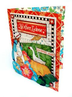Wonderful Mother Goose card by Nichola!