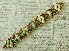 Linda's Crafty Inspirations: Bracelet of the Day: Chandra Bracelet