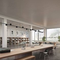 Suspenders In-Line Linear Power Precise Bar-Mounted Cube Linear Pendant Lighting, Modern Lighting, Lighting Design, Clean Design, Modern Design, Co Working, Modern Ceiling, Visual Comfort, Office Interiors