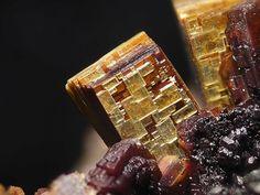 Arsenuranospathite,  HAl(UO2)4(AsO4)4•40(H2O), Krunkelbach Valley Uranium deposit, Black Forest, Germany