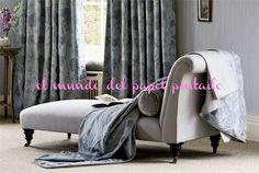 WOODVILLE FABRICS evoca un humor sofisticado y romántico, ideal para casas de campo, con un toque de elegancia para lograr una belleza intemporal. Coordinadas con la colección de Papeles Pintados WOODVILLE WALLPAPERS.