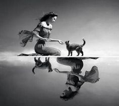 Women and cats do as they please, men and dogs should learn to relax and get used to this idea. LO