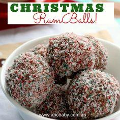 Christmas Rum balls!