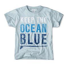 Keep the Ocean Blue Kids T-Shirt