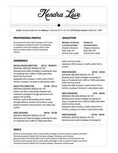 jane goldenberg fancy resume template for microsoft word