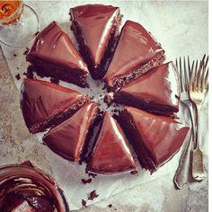 ... torte from a good bakery (like Saffron in Charleston, South Carolina