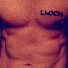 Laoch - Gaelic for warrior/ champion/ hero.