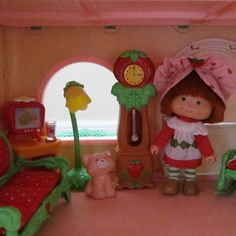 Grandfather Clock for Strawberry Shortcake by BrownEyedRoseVintage