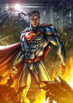 Man of Steel Artwork