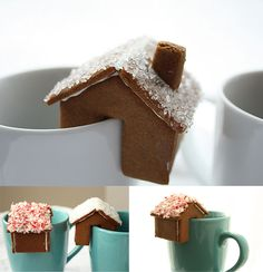 Chirstmas in July! Delightful gingerbread tea house