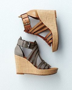 Trask Heather Gladiator Wedges ---I will possess these shoes! Velcro Shoes, Sock Shoes, Shoe Boots, Keen Shoes, Me Too Shoes, Macys Womens Shoes, Shoes 2014, Colorful Shoes, Shoes