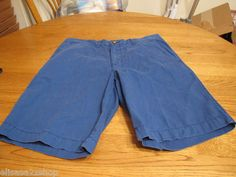 Men's Tommy Hilfiger shorts dark royal 34 NEW NWT 7810711 903 casual TH logo