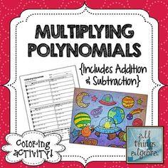 Multiplying binomials foil method worksheets
