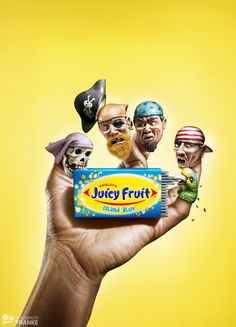 Who is the girl in the juicy fruit commercial
