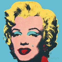 Marilyn, 1967 (On Blue) P�sters por Andy Warhol na AllPosters.com.br