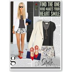 Who makes you smile?, created by sumarie on Polyvore