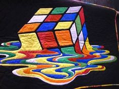 Image result for illusion quilt pattern by dereck lockwood