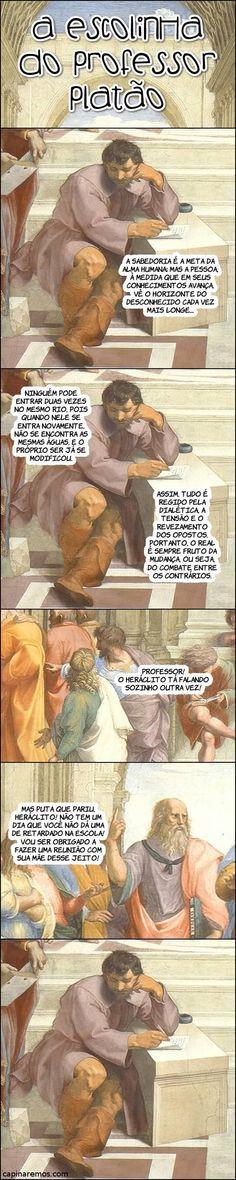 A escolinha do Professor Platão #5