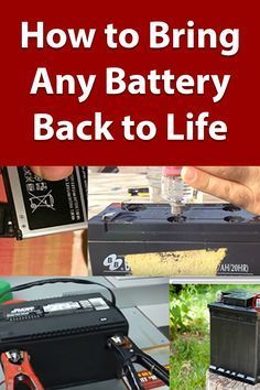 The Time Required To Learn How To Recondition Your Batteries Is Tiny But The Benefits Money In 2021 Battery Repair Recondition Batteries Car Battery Hacks