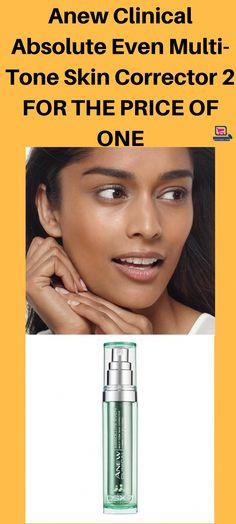 Anew Clinical Absolute Even Multi-Tone Skin Corrector #facetoner #skincare #facecream #beautyproduct #beautyproductwelove #shopping face toner | face toner best | face toner benefits | face toner diy | face toner essential oils | Face Toners and Astringents | Face Toner & Masks | face toner |#OnSale #onsalenow #BrownSpotsOnSkin