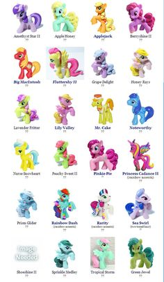 my little pony names and pictures list google search pony