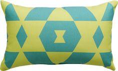 "$14.99 bleu monday 20""x12"" outdoor pillow"