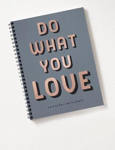 Inspirational Notebooks