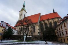 For those who can brave the cold and like the idea of walking through a snowy wonderland, we recommend to check these tips how to enjoy winter in Bratislava Bratislava, Czech Republic, Hungary, Poland, Cathedral, Explore, Group, Building, Winter