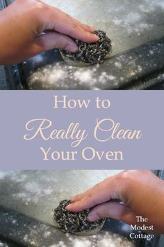How to Clean Your Oven - Home Cleaning Products