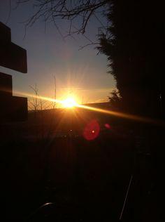 Winter sunset in Sheffield -ELM Winter Sunset, Sheffield, Scenery, Celestial, Outdoor, Outdoors, Landscape, Outdoor Games, Paisajes