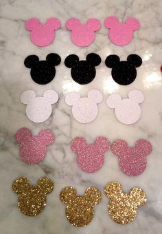 Confetti de mesa de Minnie/Mickey / color de por LilLadybugCreation