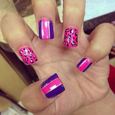 Pink, purple, & cheetah