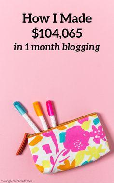 How I Made $104,065 In April 2018 Blogging #blogging #bloggingtips #howtostartablog Make Money Blogging, Money Saving Tips, Make Money Online, How To Make Money, Life Insurance, Make Sense, Finance Tips, Extra Money, Personal Finance
