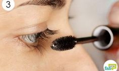 Long and luscious eyelashes are one of the most important attributes of a beautiful face. They frame the eyes and can draw many to take a second look at your charming face. Long Thick Eyelashes, Longer Eyelashes, Mascara, Beauty Makeup, How To Apply, Stud Earrings, Skin Care, Eyes, Health