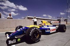1992 SAGP, Kyalami : Nigel Mansell, Williams FW14B, Canon Williams Renault, Winner (ph: Photobucket)