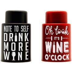 Vacuum Wine Stoppers - Pressurized wine caps to seal in the full taste of your favorite wine!  Enjoy a fresh glass every time!  #wineaccessories #winestopper  #vinoplease #winenight #holidaygifts