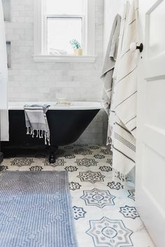 A Timeless Bathroom Renovation - Style Me Pretty Living Bathroom Renos, Bathroom Flooring, Bathroom Renovations, Bathroom Ideas, Tiled Bathrooms, Small Bathrooms, Washroom, Timeless Bathroom, Beautiful Bathrooms