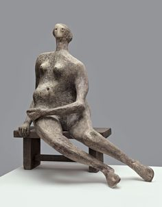 Seated Woman-Henry Moore-1957