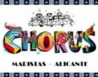 Los chicos del coro de Maristas cantan el viernes en Alicante