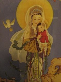 Chinese Madonna and Child