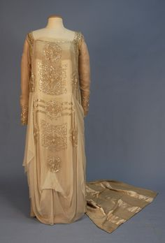Wedding Dress 1915 Whitaker Auctions