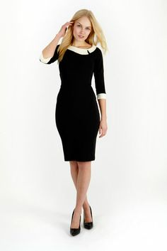 Mistress Black Day Dress - as worn by nigella lawson. mmm.