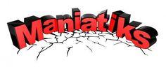 Logotipo para la productora de eventos Maniatiks