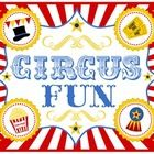 Circus themed paper pack from Printabelle    Printables...