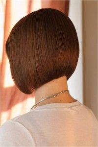 Love the back of this. classic, rounded bob hairstyle, short hair by @Annie Compean Compean Compean Faye