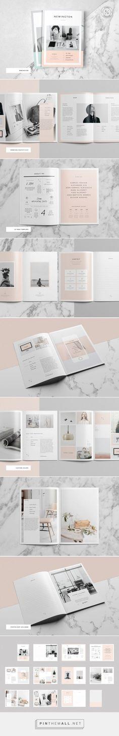 Newington Portfolio on Behance - created via http://pinthemall.net